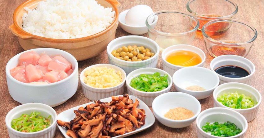 ingredients information api food diary recipe rice chicken