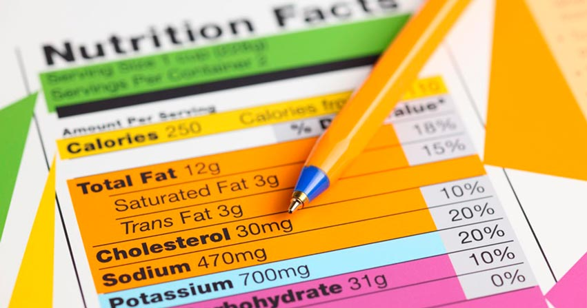 nutritional information api food tracking nutritional facts cholesterol calories